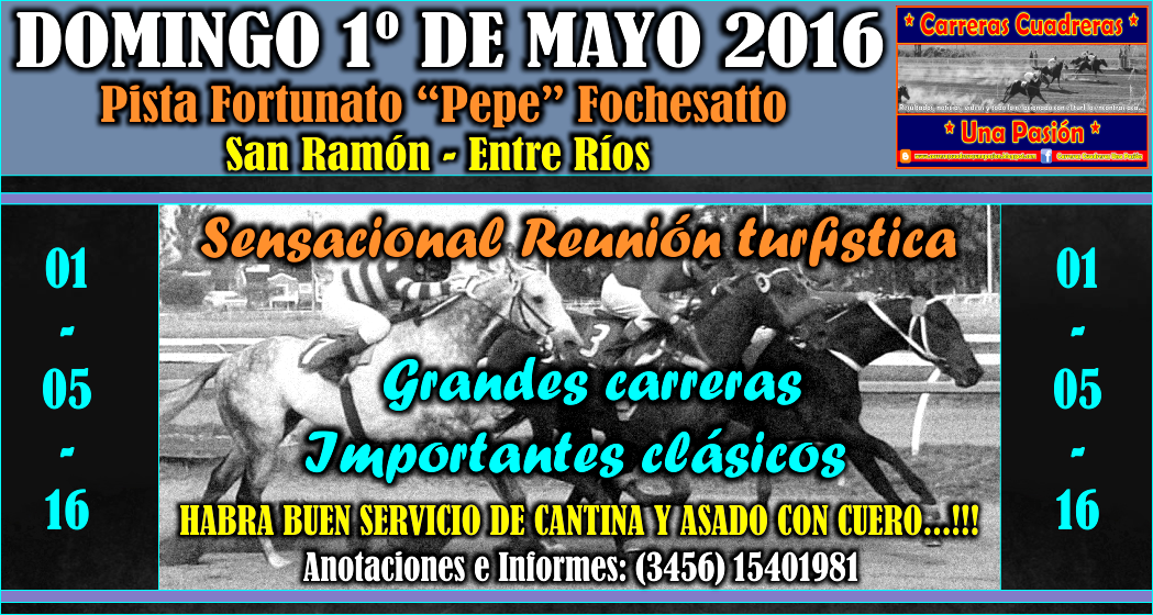 SAN RAMON - 01.05.2016