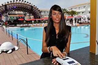 Paga con tus huellas dactilares en Ushuaïa Ibiza Beach Hotel