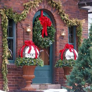 Como Decorar Puertas en Navidad, parte 4