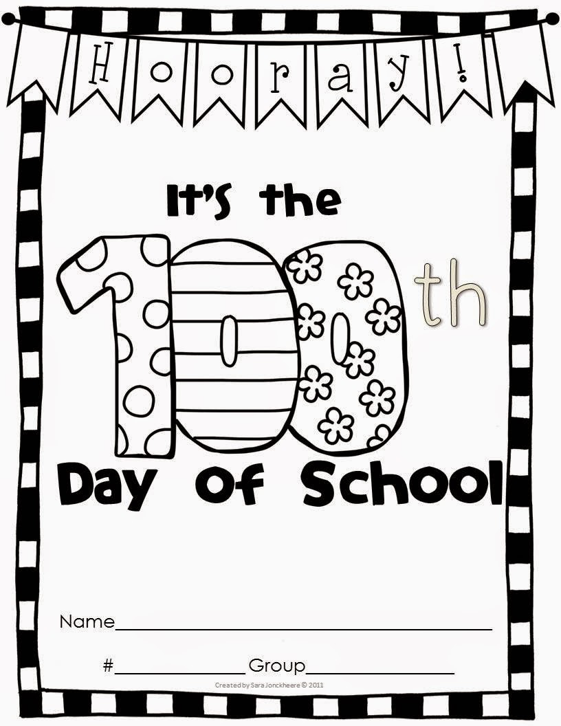 100th Day of School Clipart 100th Day of School Centers