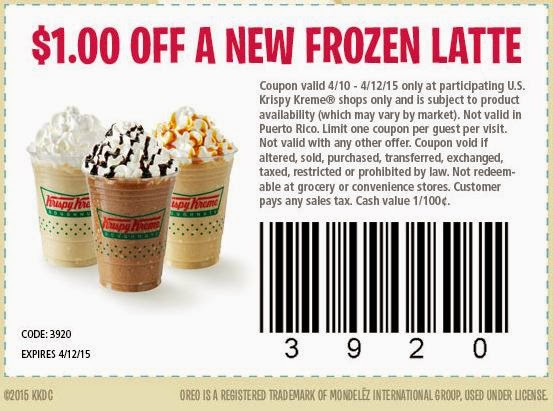 graphic about Krispy Kreme Printable Coupons titled Printable coupon for krispy kreme doughnuts - 6 02 coupon codes