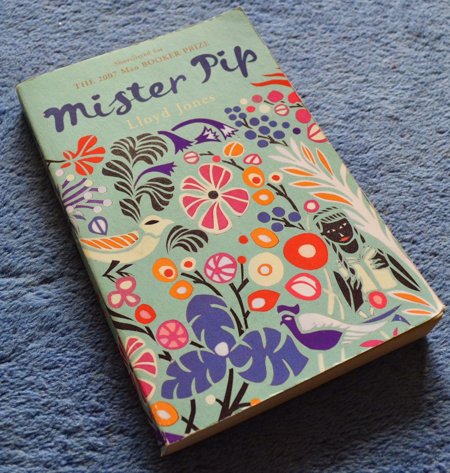 Lloyd Jones, Mister Pip, Bouganville, paperback, book review, fiction