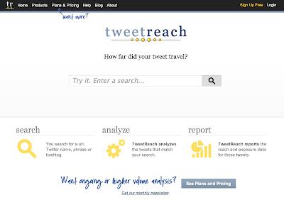 TweetReach mide el alcance de nuestros tweets
