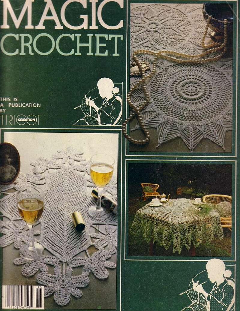 Magic Crochet No. 15 ~ Free Crochet Patterns