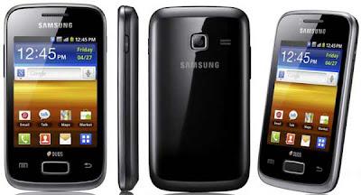 Gambar HP Samsung Galaxy Y Duos s6102