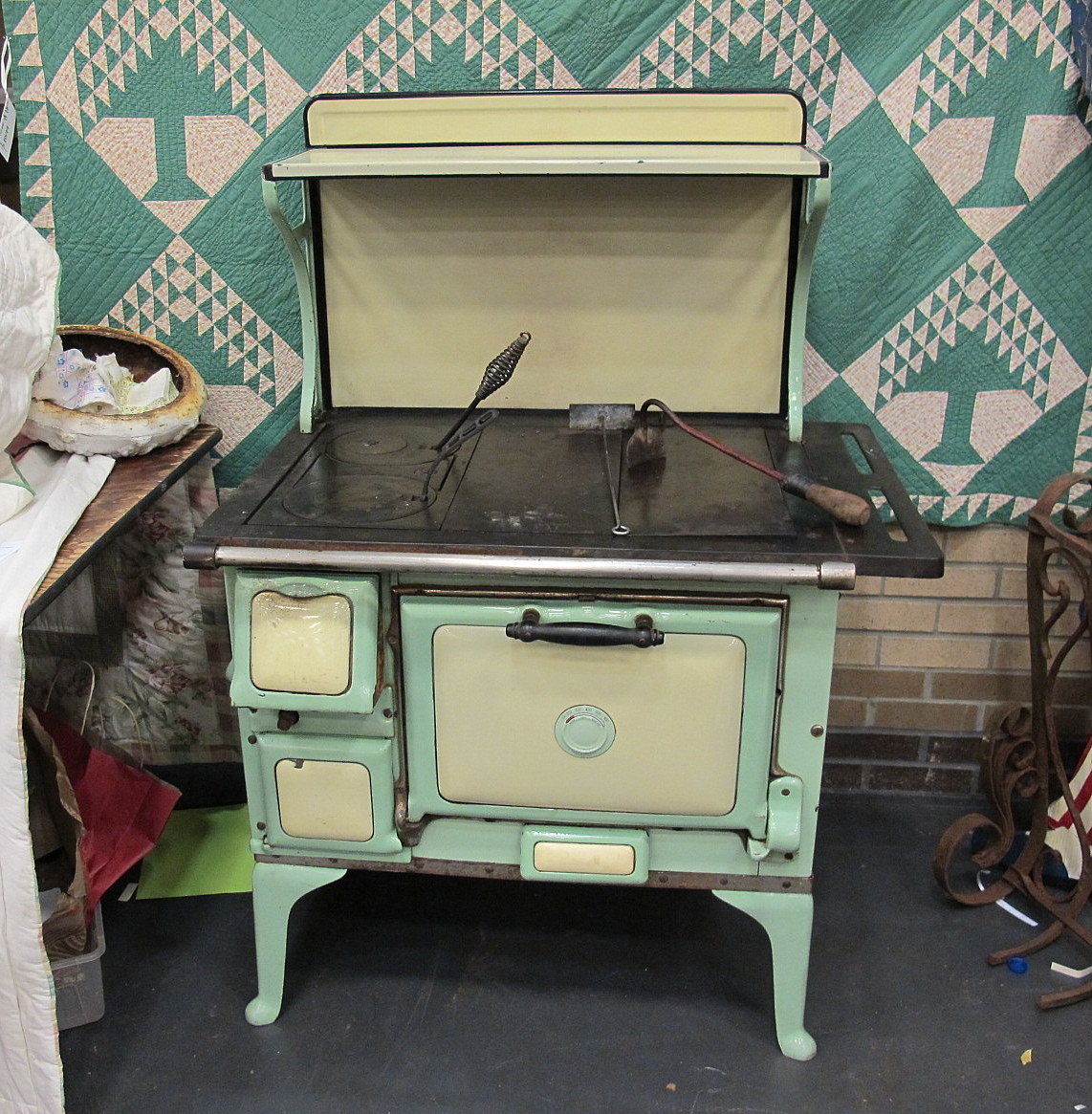 Antique Montgomery Ward | Stoves | Antiques  Collectibles Price