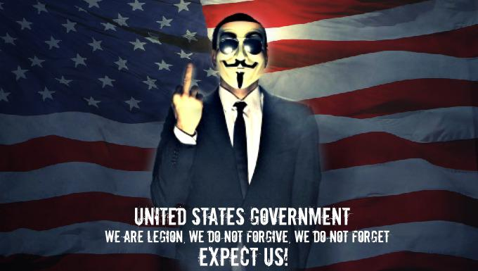 Anonymous ART Of Revolution United States Government We Are Legion Do Not Forgive Forget Expect Us