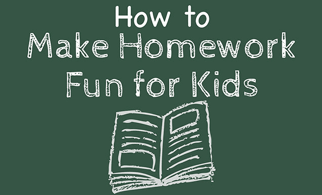 How To Make Homework Fun For Kids #infographic ~ Visualistan
