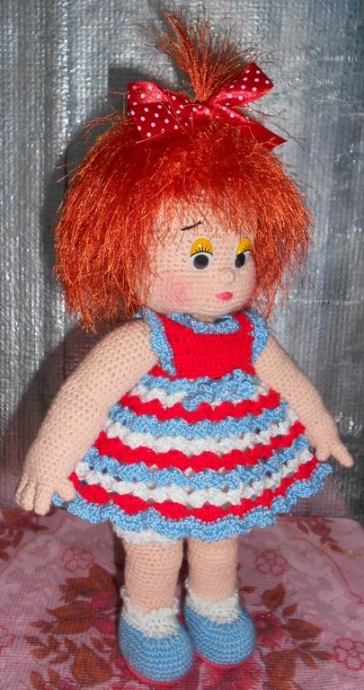 Вяжем куклу своими руками фото
