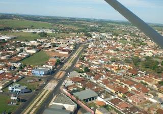 Cidade de Ibitinga em São Paulo