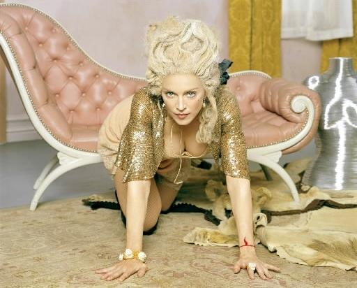 madonna as marie antoinette