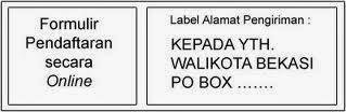 Mengiriman Surat Lamaran melalui Po Box
