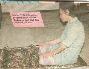 Tribute to Allahyarham Sudirman Haji Arshad: Saat-Saat Akhir Sudirman