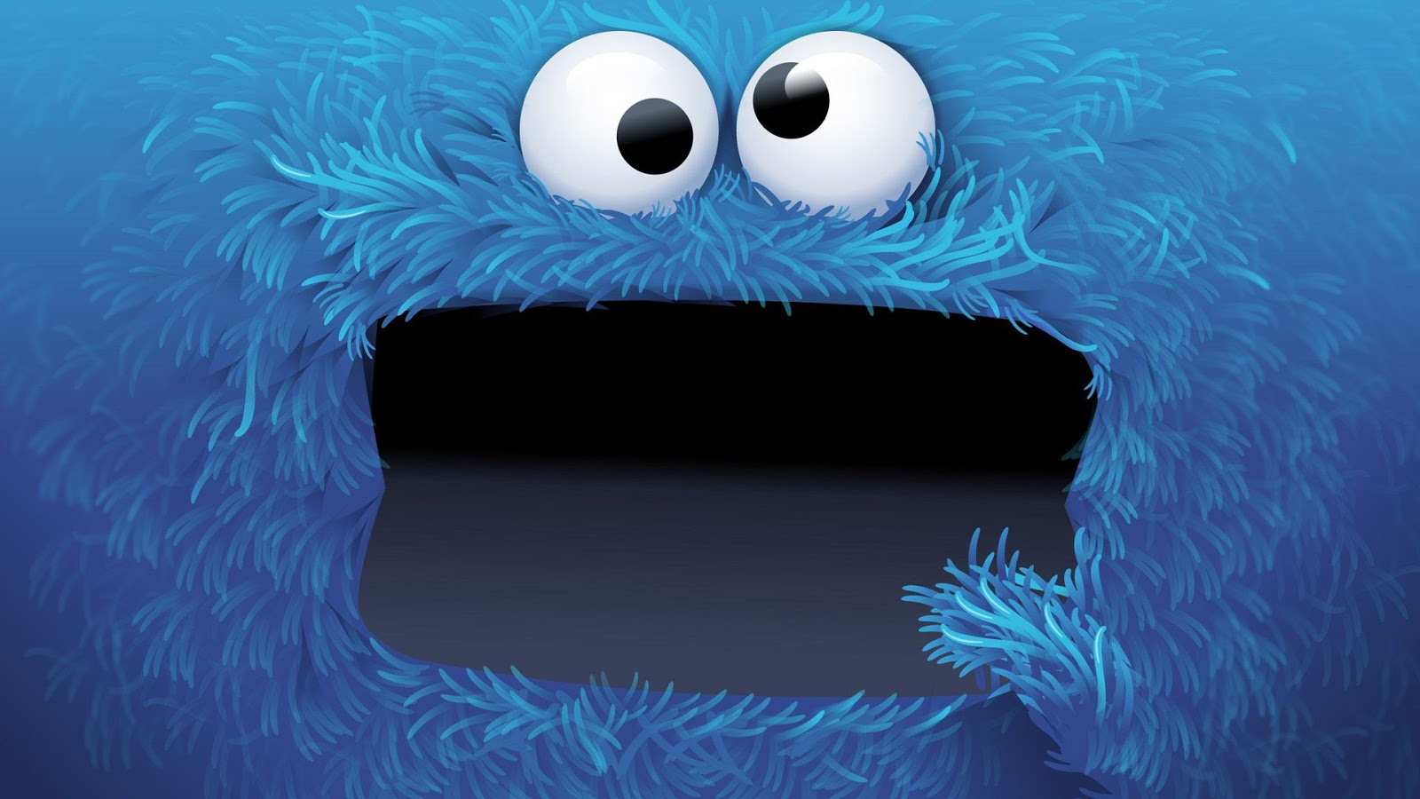 Cookie Monster ~ Mystery Wallpaper