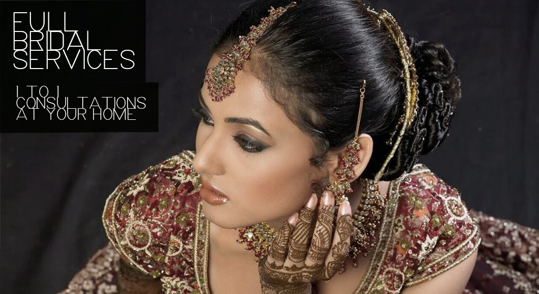 Bridal Hairstyles for Walima / Receptions