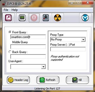 kita beralih pd proxy configuration untukk proxy server silahkan