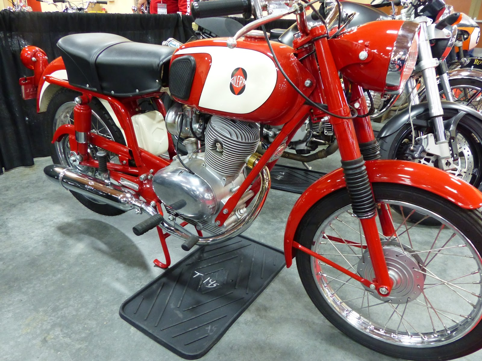1968 Gilera 106SS For Sale At The 2016 Mecum Las Vegas Motorcycle Auction