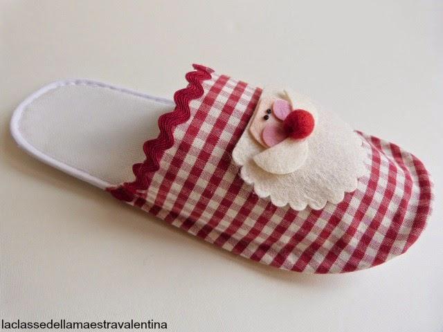 la classe della maestra valentina: le pantofole della befana - Calze Della Befana Originali