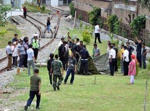 salah+mendarat Tentara Terjun Payung Malaysia Nyasar di Mal Medan