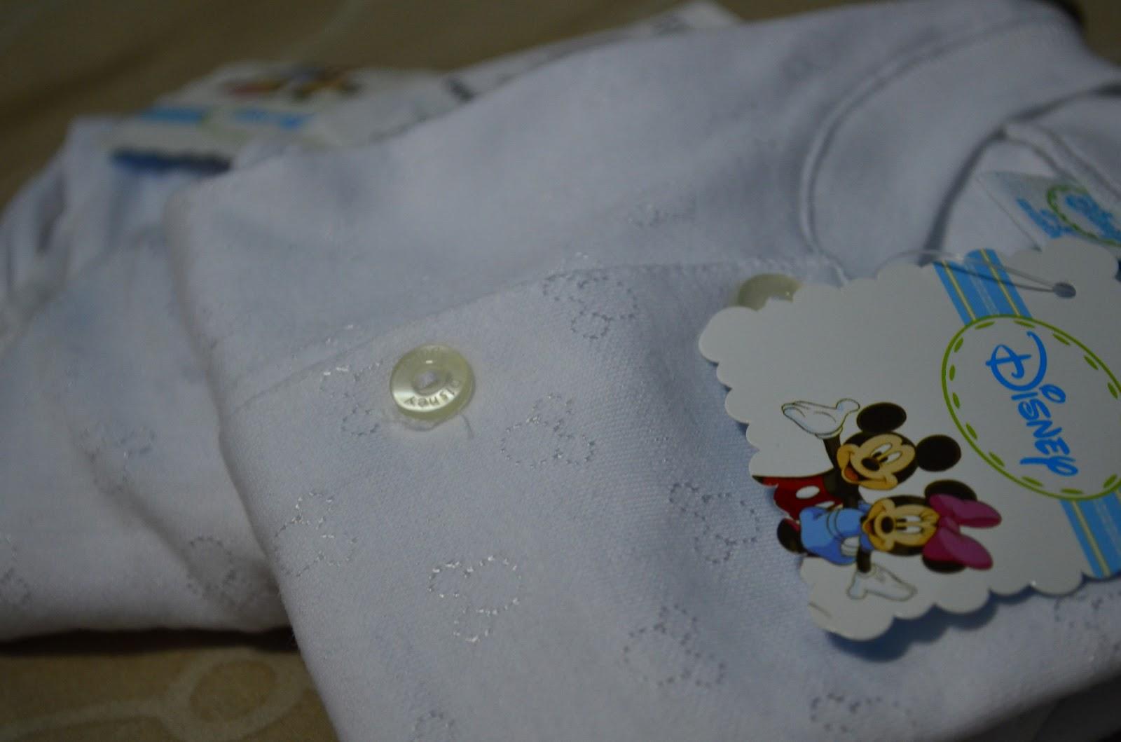Love Line Mommy To B Persiapan Baby Baju Bayi Newborn Lengan Panjang Disney Putih