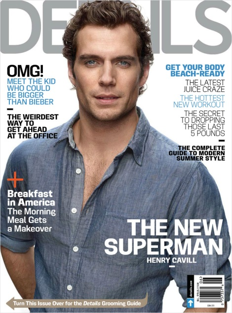 Henry Cavill Details Magazine Cover