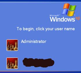 Administrator lozinka šifra Windows XP trikovi