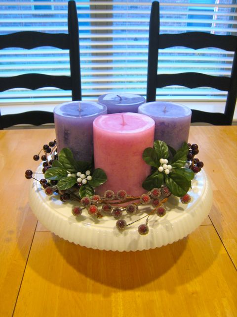 Spirals & Spatulas: DIY Advent Wreath
