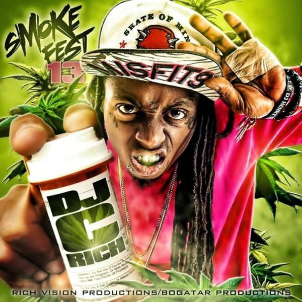 Lil Wayne - Turn On the Lights Remix - Album Single  Cover