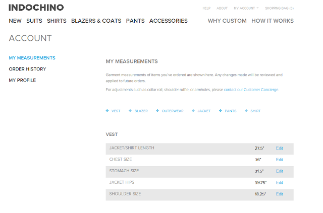 Indochino Measurement Page