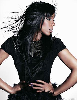Kelly Rowland pour Stylist Magazine