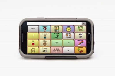 The NOVA Chat 5 functions like a Smart Phone, with its similar size and weight.