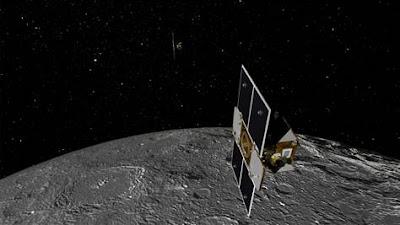 grail moon orbit illustration