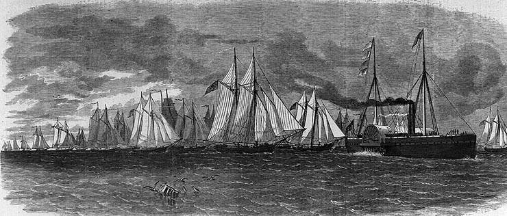 Mortars On Ships : Civil war navy sesquicentennial porter s mortar fleet in