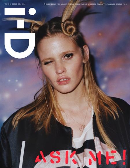 i-D Magazine Spring 2013 Cover