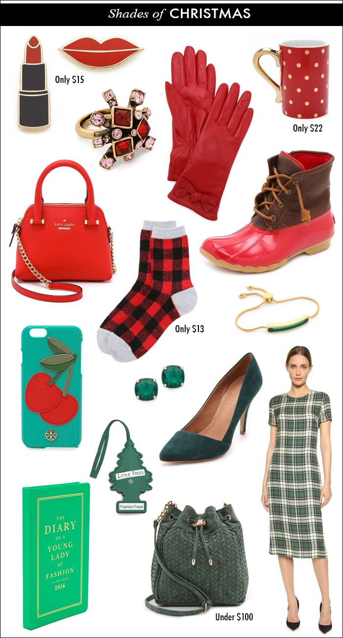 buffalo plaid socks, kate spade little bag, polka dot mug, fashion fresh key chain, sperry duck boots