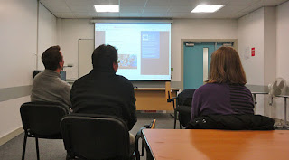 QUB Open Learning Citizen Journalism class