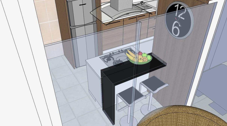 Cozinha E Varanda Gourmet Projeto Casa Ideias