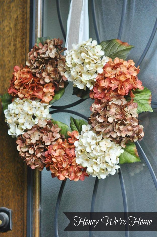 Honey Were HomeDIY Fall Floral Wreath