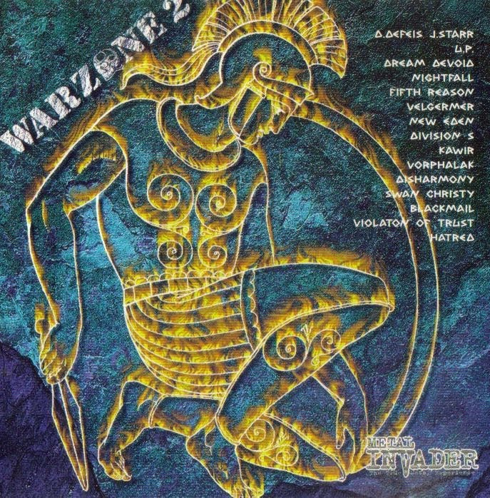 Warzone 2 - 1998 1. D.Defeis - J.Star (USA) - Rain Of Fire* 2. Unleashed Power (Dnk) - Gateway To Deadly Sins 3. Dream Devoid (Grc) - Consequent Sins