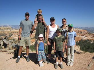 The Smith Family at Bryce Canyon National Park