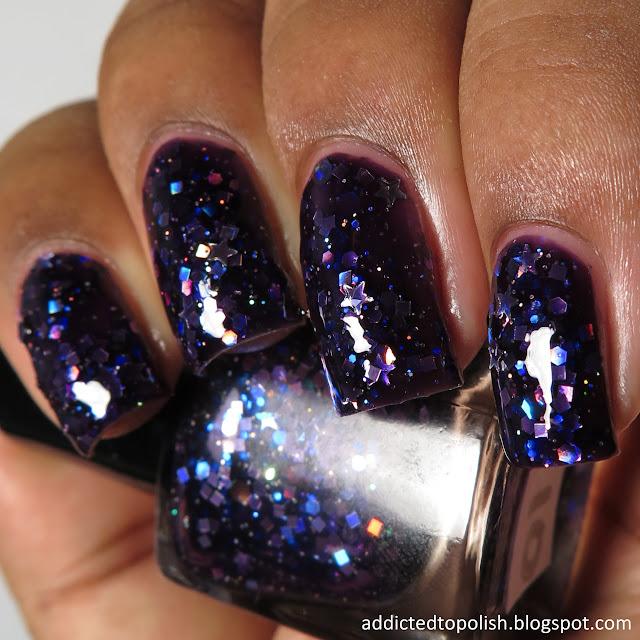 gracefull nail polish eboni