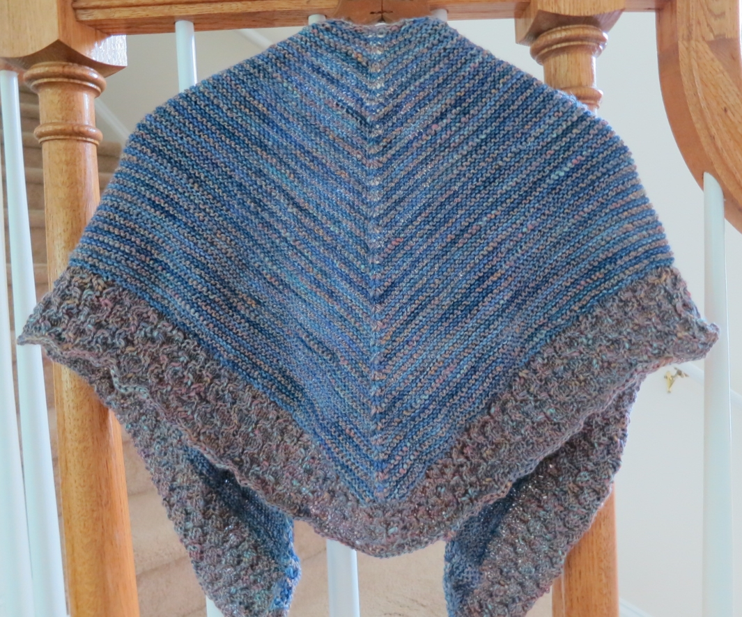 Difficult Knitting Patterns : The Fuzzy Lounge: New FREE Knitting Pattern: Crossroads Textured Shawl