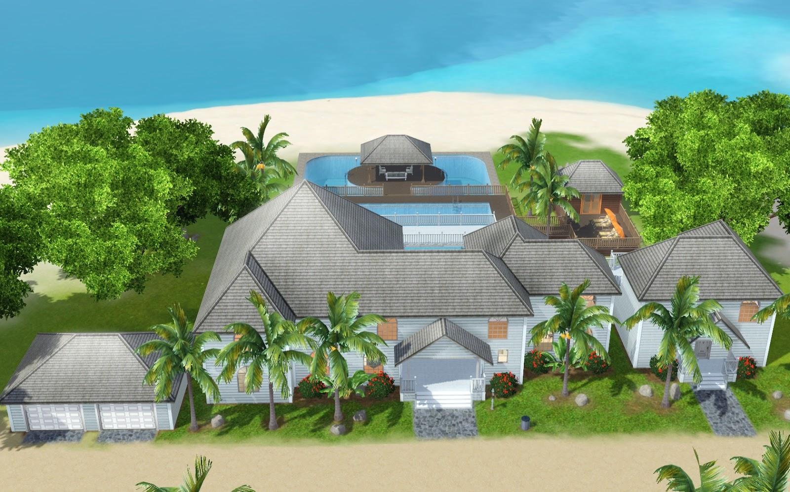 100 Sims 3 Modern Beach House Sims 3 Modern House
