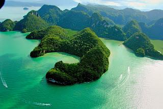 La más hermosa y bella playa de Malasia