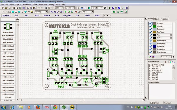 PCB Layout Software Diptrace