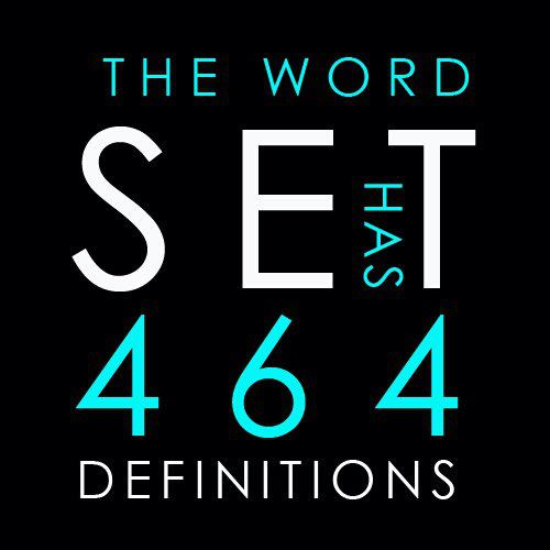 Image result for word set has highest number of meanings