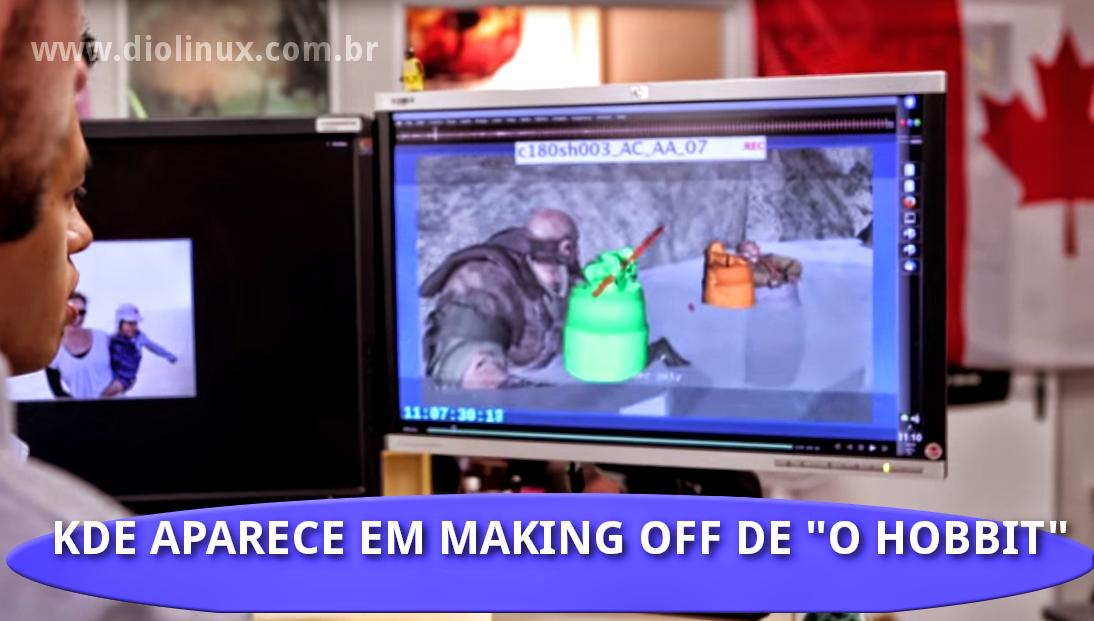 KDE é usado por indústria Cinematográfica