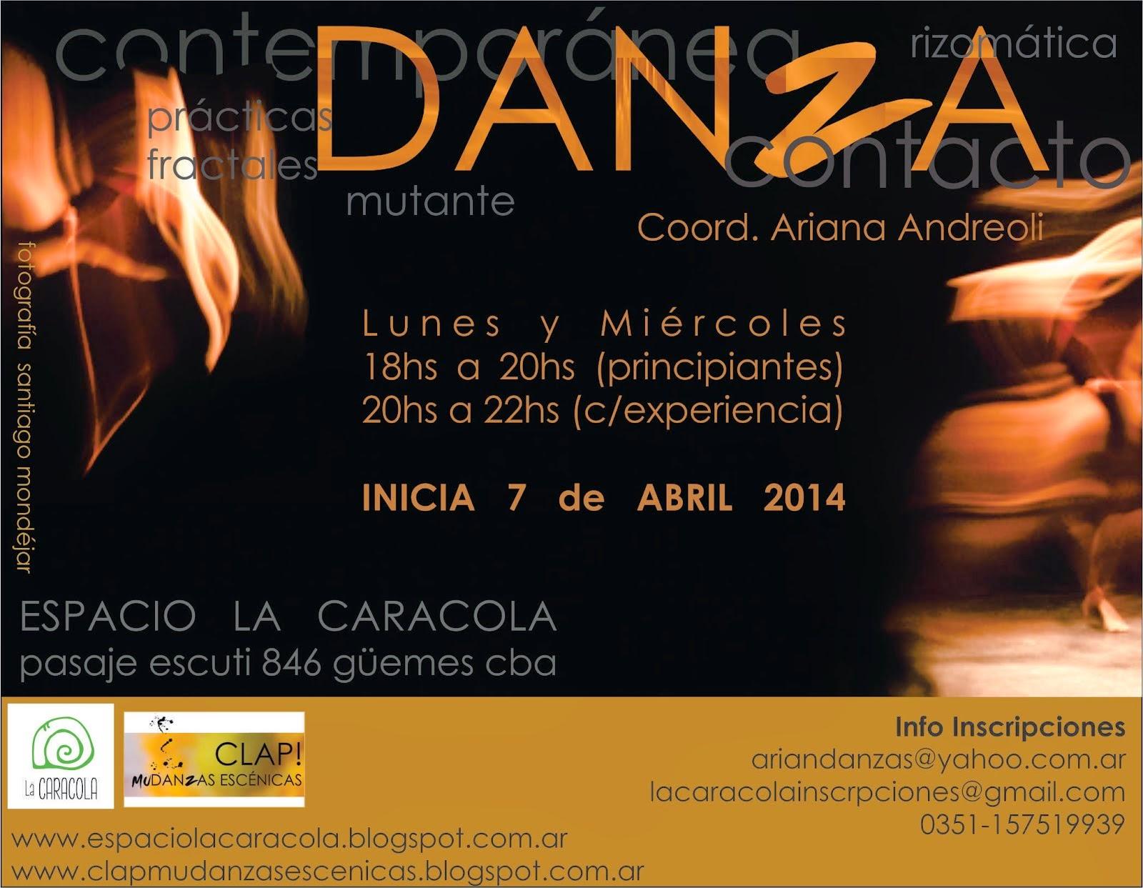 DANZA práctica regular 2014 / Ciudad de Córdoba y Unquillo