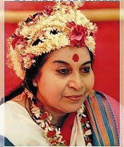 Shri Mataji Nirmala Devi, fondatoarea Sahaja Yoga