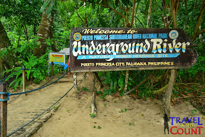 Entrance to the Underground River